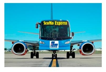 bus plane