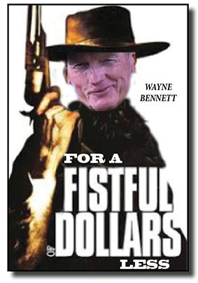 fistful of dollars NEW AD