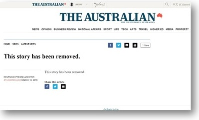 oz removed