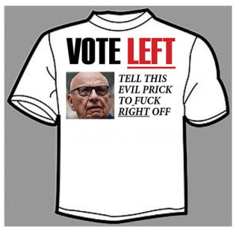 vote left tshirt - net