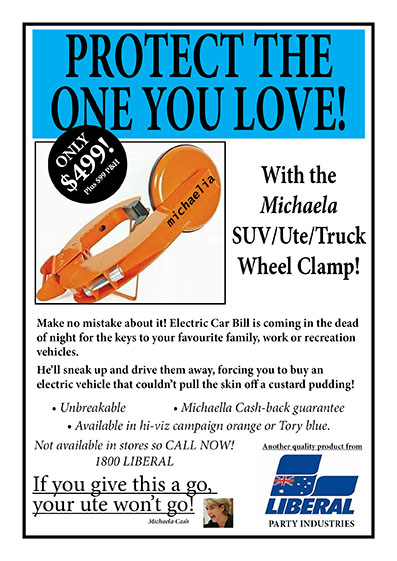 michaela wheel clamp AD - net