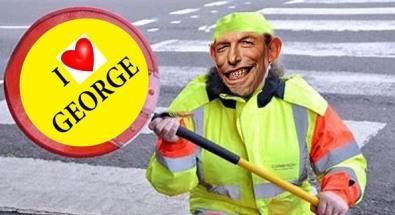 i love george - net