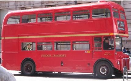 queen on bus
