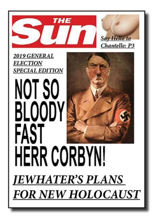 uk election mastheads- the sun - net