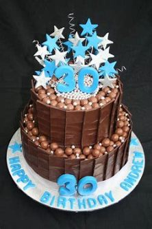 30th birthday cake- net