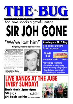 cover - sir joh gone