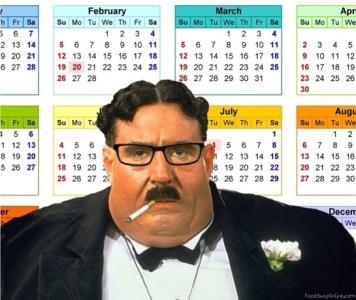 foodie calendar
