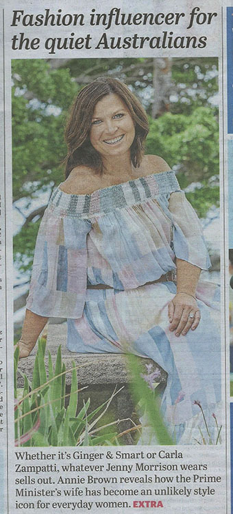 sun herald jenny fashion piece- net