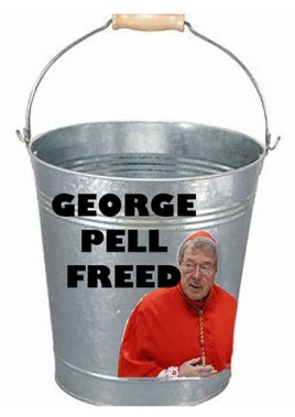 george pell chuck bucket - net