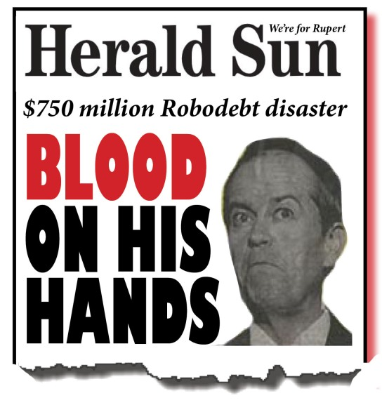 herald sun on robotdebt - net